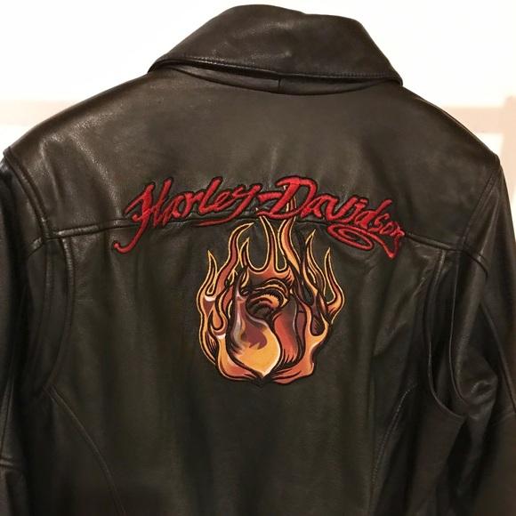SOLD Women's leather HD jacket